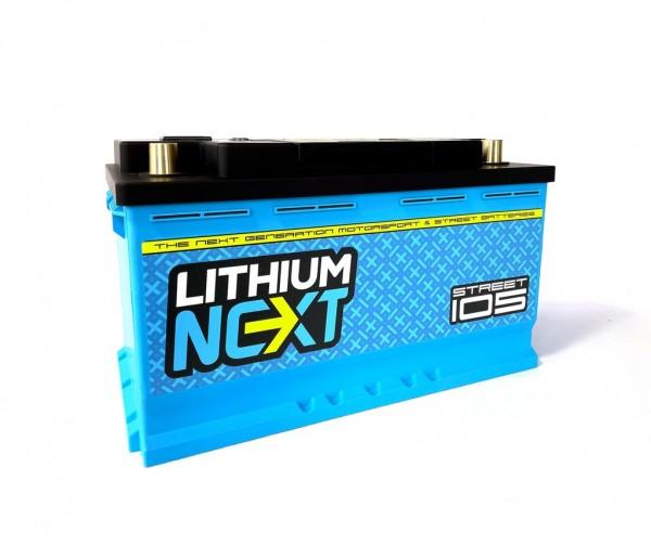 LithiumNEXT STREET105 Starterbatterie Pbeq 105 Ah
