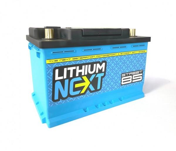 LithiumNEXT STREET85 Starterbatterie Pbeq 85 Ah
