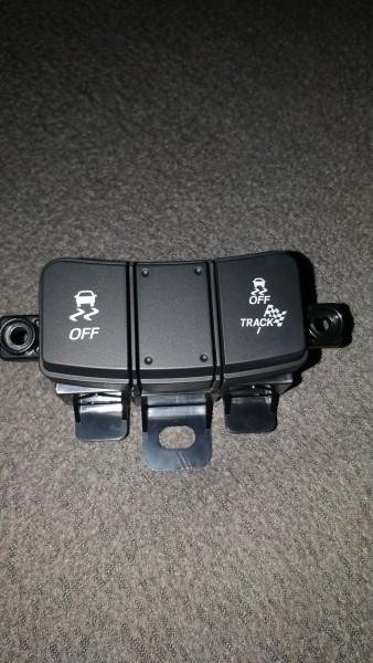 Toyota OEM Schalter Traktionskontrolle schwarz Facelift Toyota GT86 Subaru BRZ