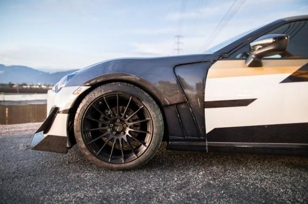 JR RS86 Style Carbon Kotflügel für den Toyota GT86 & Subaru BRZ