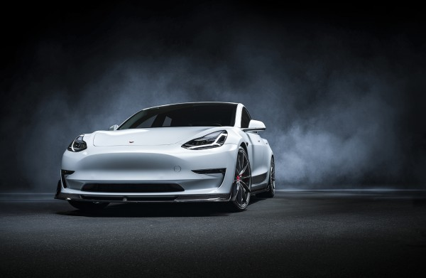 Jeggon Racing Vorsteiner Spec Carbon Lippe Tesla Model 3