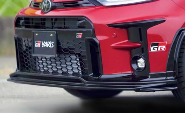 TRD Gazoo Racing Lippe vorn Toyota Yaris GR 20+