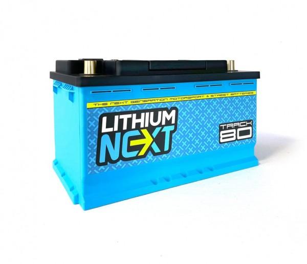 LithiumNEXT TRACK80 Starterbatterie Pbeq 80 Ah
