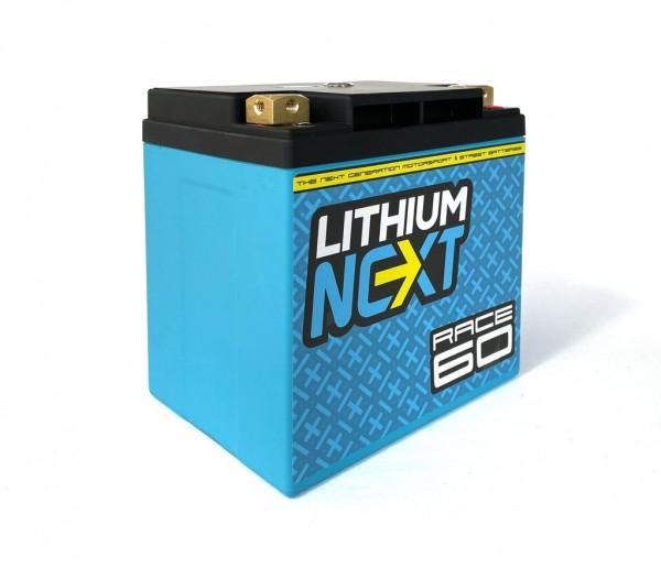 LithiumNEXT RACE60 Starterbatterie Pbeq 60 Ah